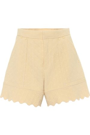 Chloé Kobieta Szorty - Quilted cotton jacquard shorts