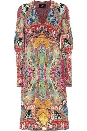 Etro Kobieta Sukienki z nadrukiem - Printed midi dress
