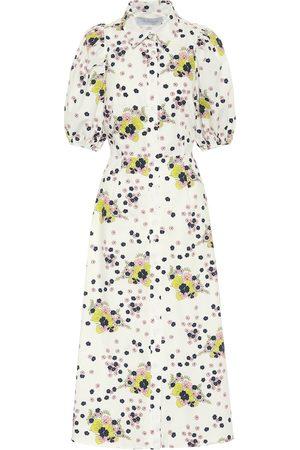 Les Rêveries Exclusive to Mytheresa – Floral cotton poplin shirt dress