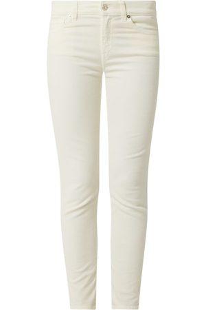 7 for all Mankind Spodnie sztruksowe o wąskim kroju model 'Corduroy'