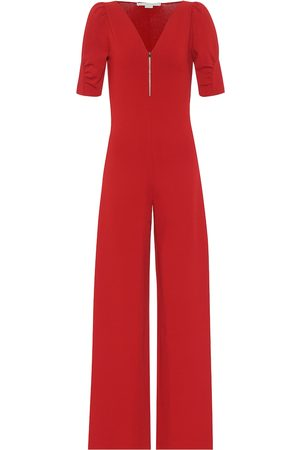 Stella McCartney Knit wide-leg jumpsuit