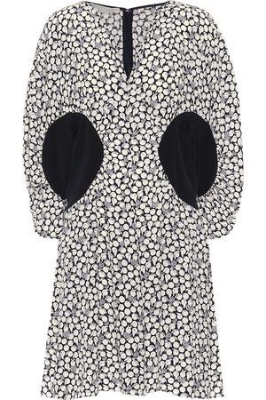 Stella McCartney Reina printed silk crêpe minidress