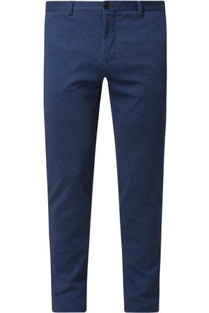 Matinique Spodnie do garnituru o kroju slim fit z tkaną fakturą model 'MApaton'