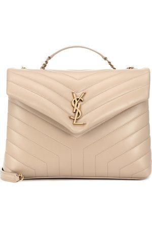 Saint Laurent Loulou Medium leather shoulder bag