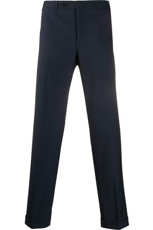 CANALI Mężczyzna Spodnie eleganckie - Blue