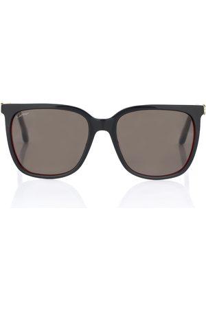 CARTIER EYEWEAR C Décor D-frame sunglasses