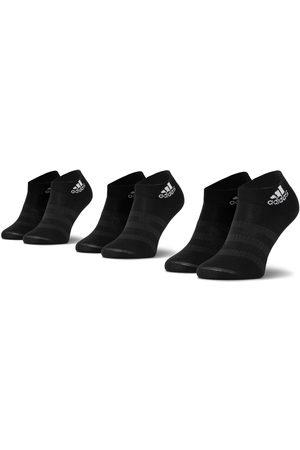 adidas Skarpety - Zestaw 3 par niskich skarpet unisex - Light Ank 3Pp DZ9436 Black/Black/Black