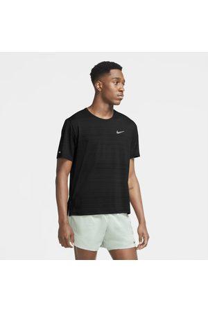 Nike Mężczyzna Topy i T-shirty - Męska koszulka do biegania Dri-FIT Miler
