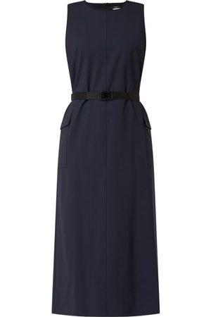 Max Mara Sukienka z mieszanki żywej wełny i elastanu model 'Lecito'