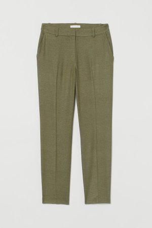 H&M Kobieta Spodnie eleganckie - Spodnie cygaretki z lnem
