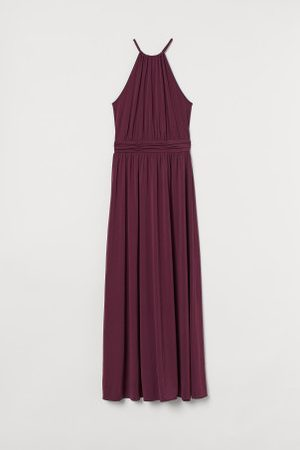 H&M Długa sukienka bez rękawów