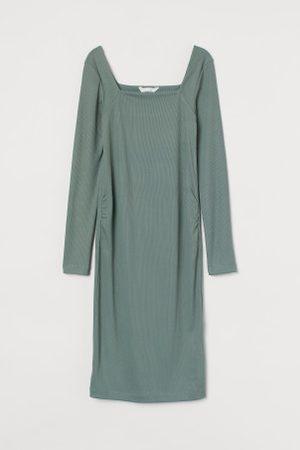 H&M Kobieta Sukienki - MAMA Sukienka w prążki