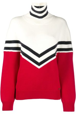 Dsquared2 Colour block roll neck jumper