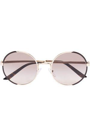 Prada Tone round sunglasses