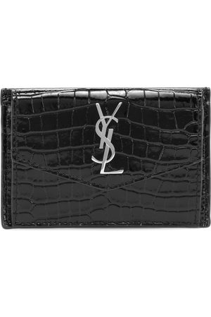 Saint Laurent Kobieta Portmonetki i Portfele - Uptown leather card case