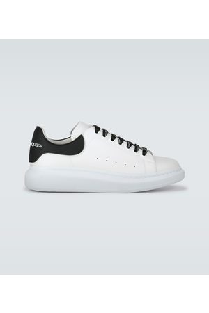 Alexander McQueen Oversized leather sneakers