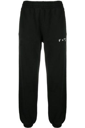 OFF-WHITE Mężczyzna Spodnie dresowe - Black