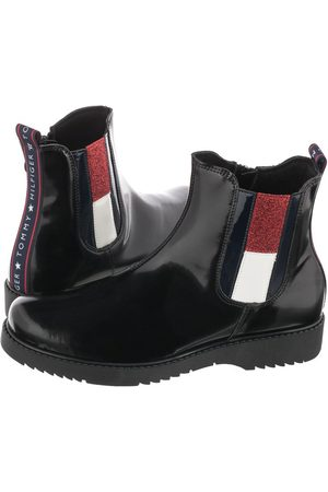 Tommy Hilfiger Botki Chelsea Boot T4A5-30840-1005 999 Black (TH151-a)