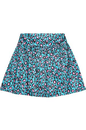 The Marc Jacobs Leopard-print satin miniskirt