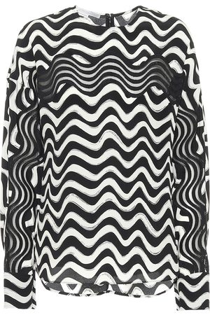 Stella McCartney Kobieta Bluzki - Printed silk blouse