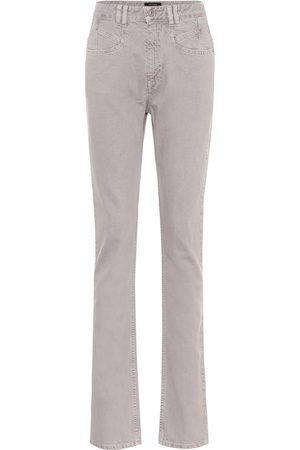 Isabel Marant Kobieta Z wysokim stanem - Dominic high-rise straight jeans