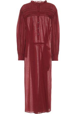 Isabel Marant Kobieta Sukienki maxi - Perkins cotton voile maxi dress