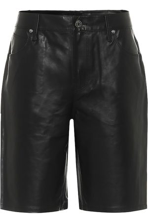 RTA Kobieta Szorty - Jami leather shorts