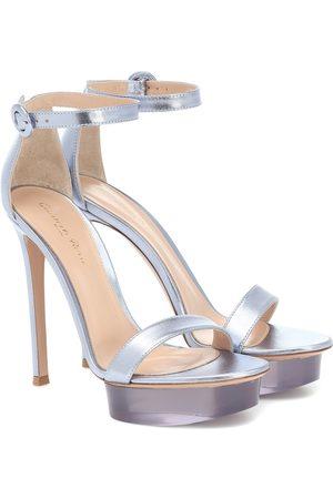 Gianvito Rossi Kobieta Sandały - Shiva leather platform sandals