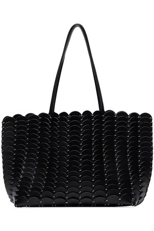 Paco rabanne Pacoïo leather shoulder bag