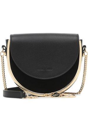 Chloé Mara Mini suede shoulder bag
