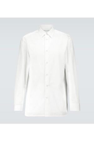 Bottega Veneta Long-sleeved cotton formal shirt