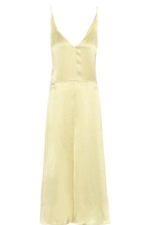 Joseph Kobieta Sukienki midi - Delphia silk-satin slip dress
