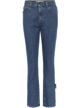 OFF-WHITE High-rise slim fit jeans