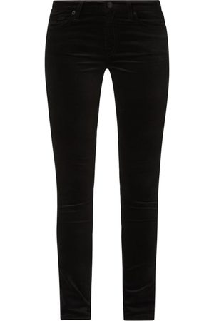 7 for all Mankind Spodnie z aksamitu o kroju skinny fit model 'The Skinny'