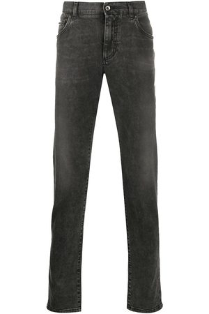 Dolce & Gabbana Mężczyzna Rurki i Slim Fit - Grey