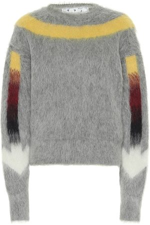 OFF-WHITE Alpaca and mohair-blend sweater