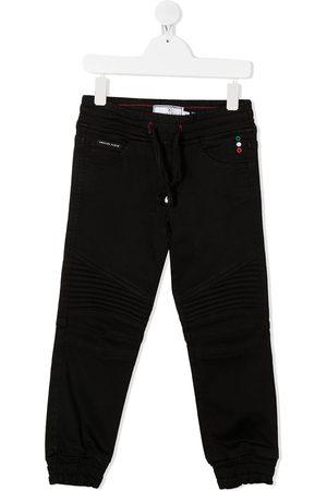 Philipp Plein Junior Chłopiec Spodnie - Black
