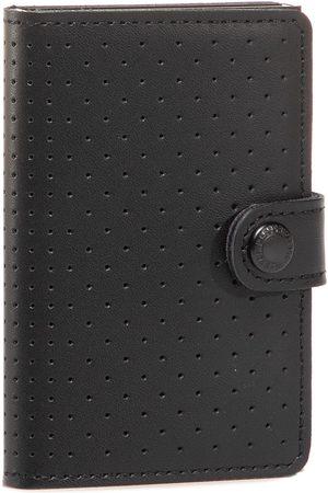 Secrid Mały Portfel Męski - Miniwallet Perforated MPF Black