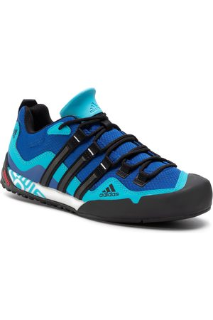 adidas Buty - Terrex Swift Solo FX9324 Team Royal Blue/Core Black/Signal Cyan