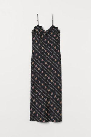 H&M Sukienka z falbankami