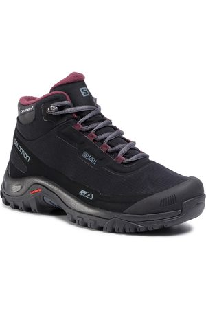 Salomon Trekkingi - Shelter Cs Wp W 411105 21 V0 Black/Ebony/Winetasting