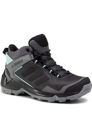 adidas Buty - Terrex Eastrail Mid Gtx W GORE-TEX F36762 Grey Four/Core Black/Clear Mint