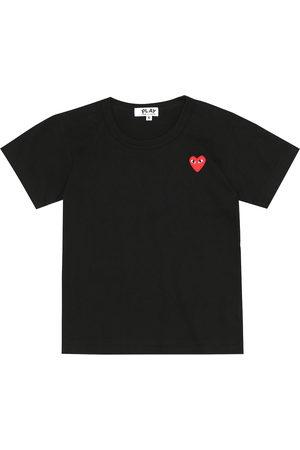 Comme de Garçons Play Kids Heart logo cotton T-shirt