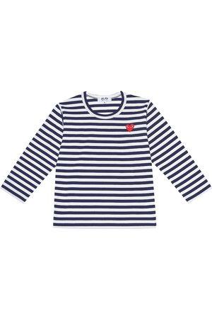 Comme de Garçons Play Kids Striped cotton T-shirt