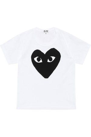 Comme de Garçons Play Kids Big Heart logo cotton T-shirt