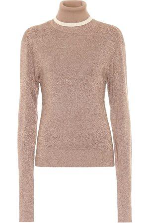 Chloé Kobieta Golfy - Wool and silk turtleneck sweater