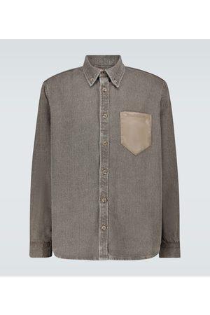 Nanushka Dome linen shirt