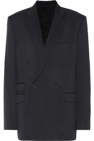 Stella McCartney Wool twill double-breasted blazer
