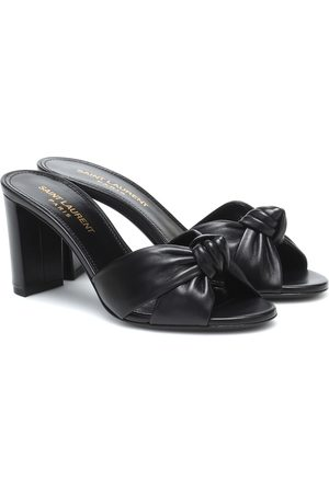 Saint Laurent Bianca leather sandals