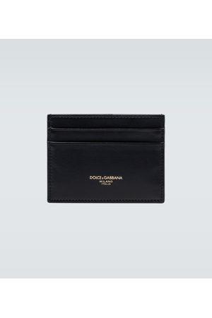 Dolce & Gabbana Portmonetki i Portfele - Leather cardholder